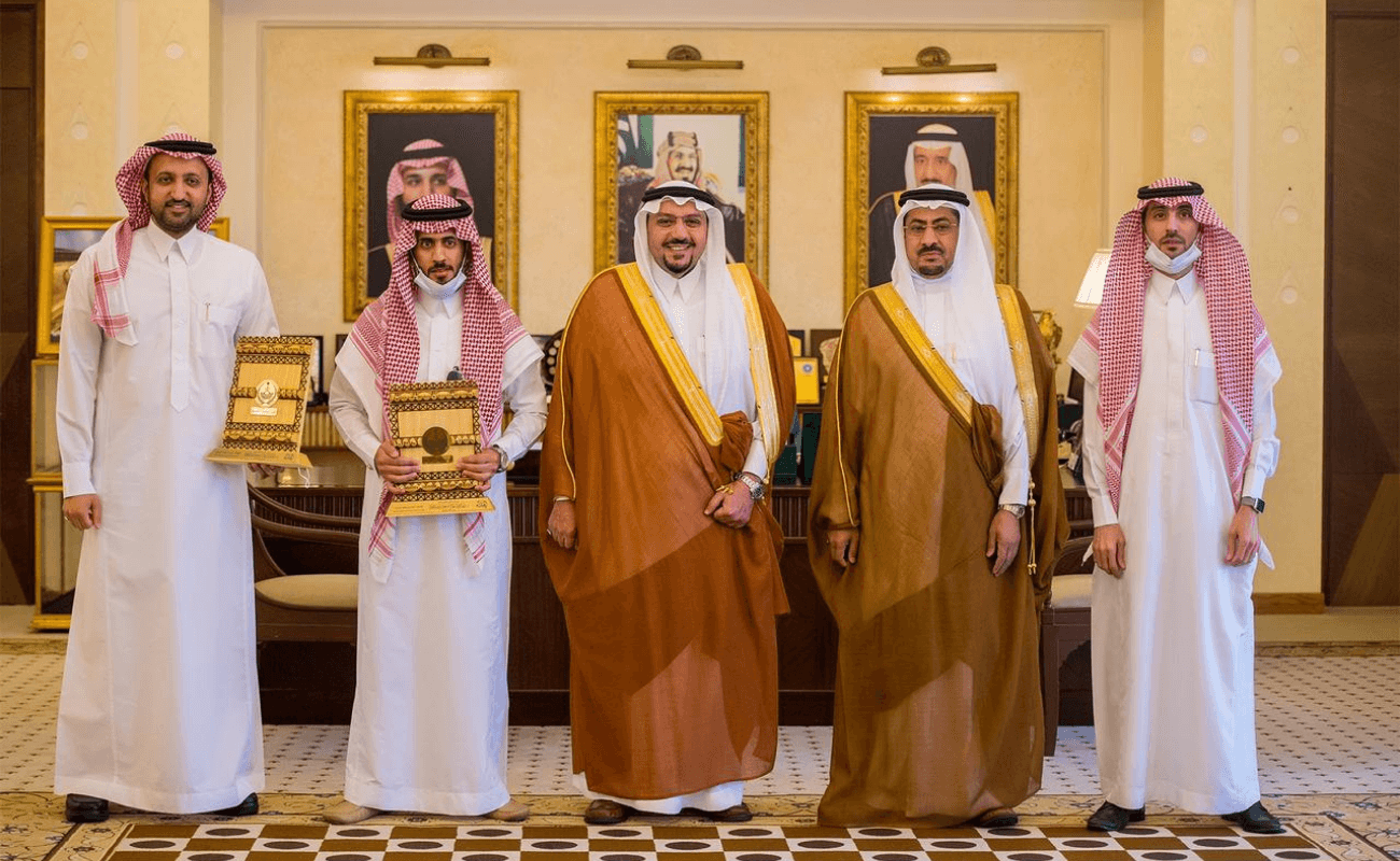Honoring His Highness, the Prince of Qassim, the CEO of Al-Wahat Company